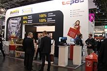 TCPOS Messestand EuroCIS 2015