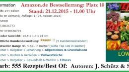 Platz 10 Amazon Bestseller