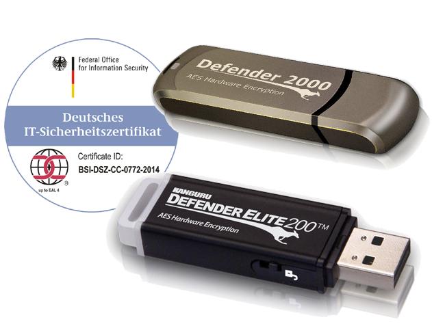 OPTIMAL System-Beratung vertreibt die weltweit einzigen USB-Datensticks mit beiden Zertifikaten, FIPS und Common Criteria