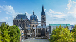 Aachen postkarte