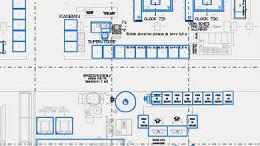 Fabrikplanung-2D-Layout