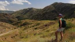 Blick auf die armenische Bergwelt