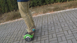 Hoverboard Test Robway