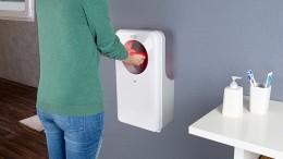 Startet automatisch und trocknet Ihre Hände sekundenschnell