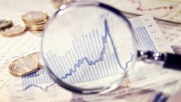 Lupe zeigt die Entwicklung des Marktes