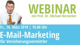 Webinar E-Mail-Marketing für Versicherungsvermittler
