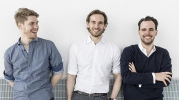 Felix Eichler, Hartmt Hahn, Kai Uhlig (PRNewsfoto/Userlane)