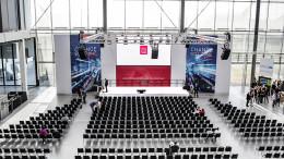 Veranstaltungstechnik in der Messe Karlsruhe Jahreskongress