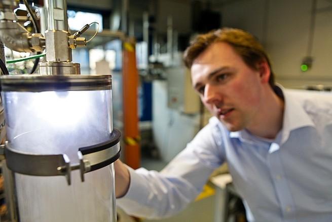 Hardware-in-the-Loop-Prüfstand für Tests der Wechselwirkungen regenerativer Brenn- und Kraftstoffe mit technischen Komponenten. Foto: OWI