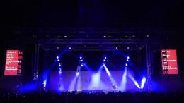 Musikmesse Festival Arena auf der Messe Frankfurt unterstützt von PINK Event Service Veranstaltungs- und Eventdienstleister aus Karlsruhe und Frankfurt