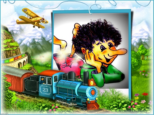 kids train - 2zxDa-4N2BL - print