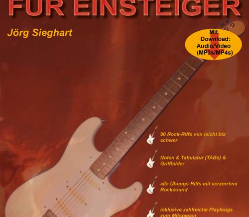 Cover Rockgitarre für Einsteiger (TUN35) 500x707