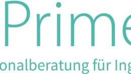 Primeo Logo mit Slogan