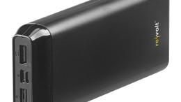 Laden Sie unterwegs 2 Mobilgeräte gleichzeitig - fernab von der Steckdose