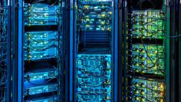 Blick in einen Serverraum
