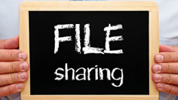 File Sharing - Business Concept