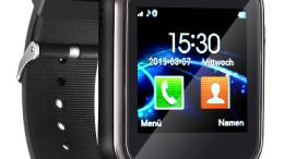 Armbanduhr zum Telefonieren, als Nachrichten-Zentrale, für Musik u.v.m.