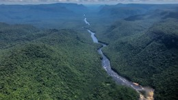 PR_Potaro River Landscape from Plane - © David DiGregorio