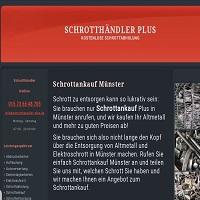 Schrottankauf- Münster