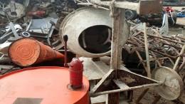 Metallschrott, entsorgung