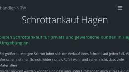 Schrottankauf Hagen
