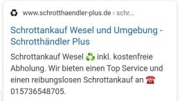 Schrottankauf Wesel