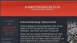 Schrottabholung Lüdenscheid