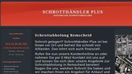 Schrottabholung- Remscheid