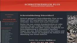Schrottabholung in Düsseldorf