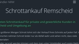 Schrottankauf Remscheid