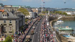 Guernsey celebrates the 70th anniversary of the liberation of the islands from German occupation 9th May 2015 #Liberation70