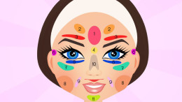 Reflexology of the face