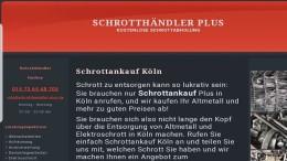 Schrottankauf -Köln