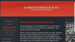 Schrottankauf Oberhausen und Umgebung
