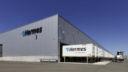 Hermes Logistikzentrum Ansbach
