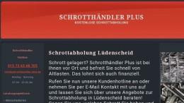 Schrottabholung - Lüdenscheid