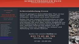 Schrottabholung in Essen