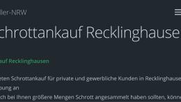Schrottankauf Recklinghausen