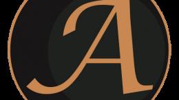 Logo Gold Hintergrund schwarz - transparent, kleiner als 1 MB