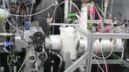 Der Reformgasmotor im Versuchsbetrieb auf dem Prüfstand der ECC Automotive GmbH. Foto: OWI