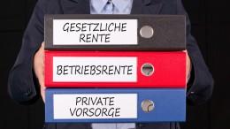 Gesetzliche Rente, Betriebsrente, Private Vorsorge
