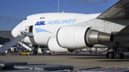  Liege airport ASL Airlines Belgium B747 OO-THD