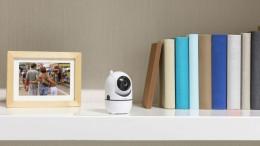 Überwacht selbstständig Räume in Full HD: folgt automatisch Bewegungen