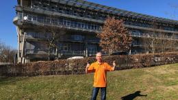 Geschäftsführer Ralf Mühlenhöver freut sich über mehr Platz im neuen Büro am Standort in Hamm.