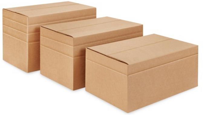 Multi-Depth Corrugated Box