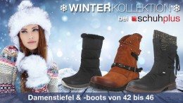 schuhplus - Schuhe in Übergrößen - ist Europas größtes Versandhaus für große Damenschuhe (Gr. 42-46) sowie große Herrenschuhe (Gr. 46-54), im Internet unter https://www.schuhplus.com sowie stationär in 27313 Dörverden bei Bremen, wo schuhplus Norddeutschlands größtes Fachgeschäft für Schuhe in Übergrößen auf über 1100 qm betreibt. Impressionen hierzu unter https://www.schuhplus.com/informationen/schuhgeschaeft/ - Wegbeschreibung unter https://www.google.com/maps/place/schuhplus+-+Schuhe+in+Übergrößen/@52.852172,9.2352259,15z/data=!4m5!3m4!1s0x0:0xe00abd04d5a1ca47!8m2!3d52.852172!4d9.2352259