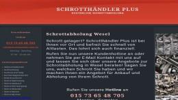 Screenshot_Schrottabholung Wesel
