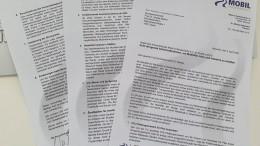 Brief Sofortmaßnahmen für Mobilität, Auto und Industrie