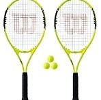 2-x-wilson-energy-xl-tennisracket-3-tennisballen