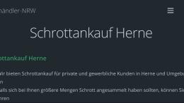 Schrottankauf Herne
